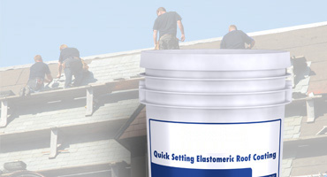 Roof coating silicone